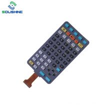 Rubber button FPC flex cable membrane switch controller