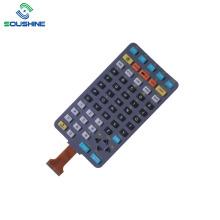 Резиновая кнопка Контроллер мембранного переключателя гибкого кабеля FPC