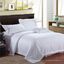 5 estrellas blanco bordado hotel cama conjuntos (WS-2016309)