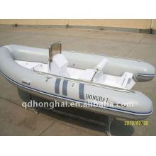 bateau rigide de fibre de verre ce rib430 avec moteur 50hp