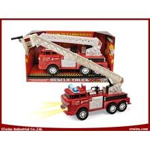 Friction Toys Feuerwehrauto mit Lichtern und Sounds