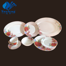 Heat Resistant Opal Glassware-38PCS Dinner Set