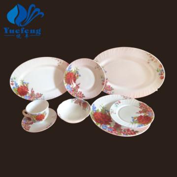 Heat Resistant Opal Glassware-38PCS Dinner Set
