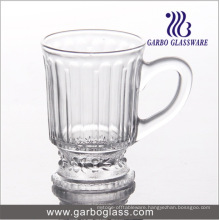 4oz Engraved Glass Tea Cup