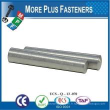 Fabriqué à Taiwan Acier à faible teneur en carbone Tige en cône Pin en acier inoxydable Pin Stoner Avant Visière Taper Pin
