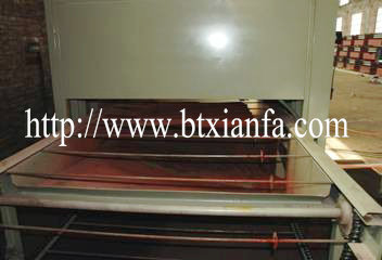 Color Stone Coated Metal Roof Tile Machine
