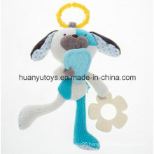 Factory Supply Baby Knit Fabric Teeth Toy