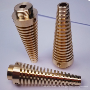 Präzisionsbearbeitung für Messing-Komponenten