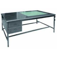 Медицинский складной столик для белья с выдвижными ящиками