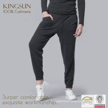 Woman Cashmere Pants, Woman's Sport Trousers, Casual Bunch Pants