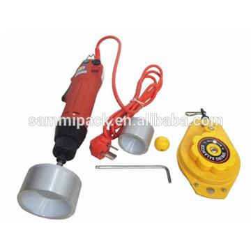 La mejor venta operación fácil operación 220V 50HZ tornillo que capsula la máquina