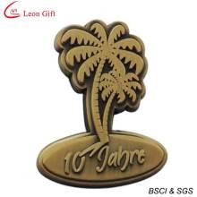 Alta qualidade distintivo dourado Metal personalizado (LM1755)