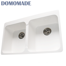 Feste Oberfläche Acrylharz / Composite-Granit / Acryl Quarz verwendet Schürze vor Spülen Küche sinkt
