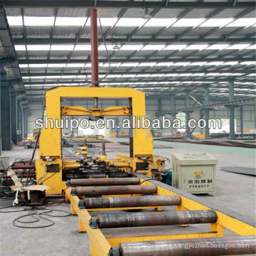 The Streaming Line for the Tank Manufacture Design Service/steel structure production/steel structure welding line