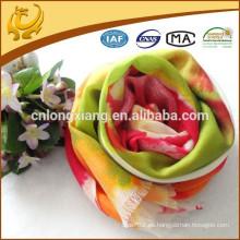 China Factory 70 * 200cm 100% Cashmere sólido y impreso bufandas de cachemira con muchos diseños de lujo