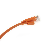 Flexible ethernet rj45 cat6 utp câble de raccordement plat