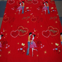 Pure Cotton Wide Width Printed Fabric Used For Beddings