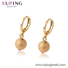 96949 xuping elegant18k gold color plated drop earring for women