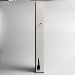 Cuboid Metal Pendulum Flip Clock