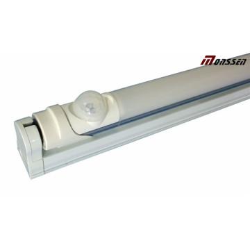 Sensor de infrarrojos de alta eficiencia IR T8 LED Tubo de luz 18W Commercial Lighting