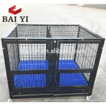 Large Steel Tube Frames Animal Dog Jaulas con ruedas