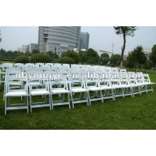 folding resin chair for wedding