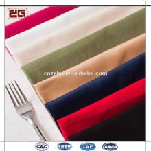 Nuevo diseño de moda al por mayor servilletas de lino para el restaurante del hotel servilleta de mesa plegable