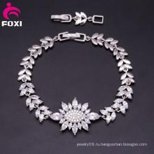 Красивый роскошный ювелирных изделий высокого качества Pretty 18k моды браслет