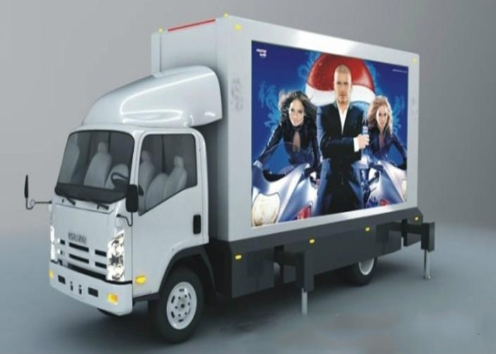 P8/P10Outdoor Truck Advertising Video Wall Display Screen