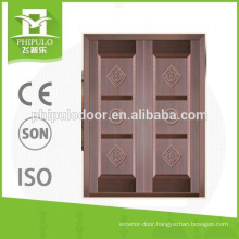 Bullet proof double security door with luxury design from PHIPULO DOORS