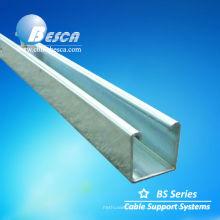 Unistrut P1000 Canal de cable de acero inoxidable UL cUL SGS ISO CE