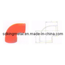 FM/UL Listed Ductile Iron Grooved 90 Reducing Elbow