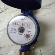 Medidor de fluxo de água de latão de alta precisão da classe B
