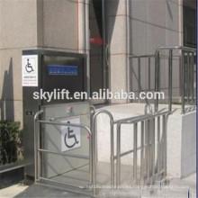 Ascensor eléctrico con silla de ruedas eléctrica para personas con discapacidad