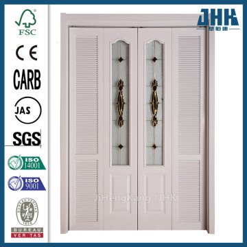 JHK Polish Wood Closet Folding Doors