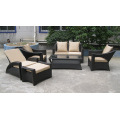 PE Rattan Furniture Outdoor Patio Rieten Bank