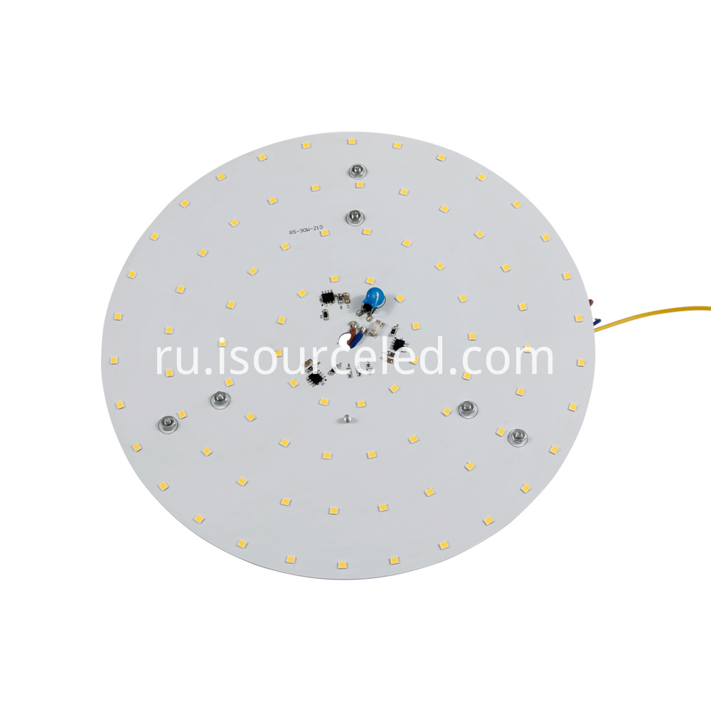 Side of 220v SCR dimming round 30W AC COB Module