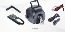 ポータブル ミニ 3500 lb 電動ウインチ ハンドル