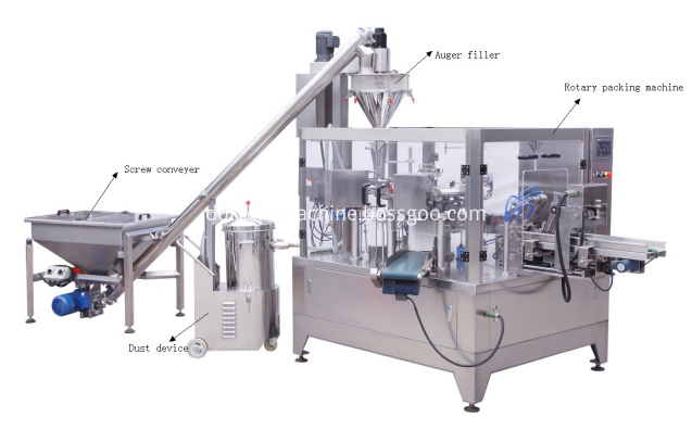 automatic rotary packing machine
