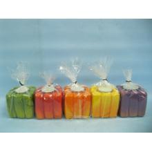 Pumpkin Candlestick Shape Ceramic Crafts (LOE2366F-7z)