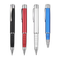 Stretch metal ballpoint pen
