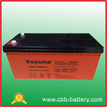 12V200ah High Power Supply Lead Acid Solar Battery for Power Station