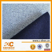 Soft Touch! ! Indigo Color Knitting Denim Fabric
