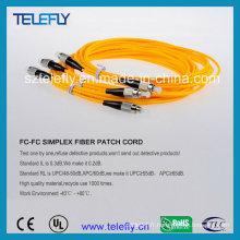 Passerelle fibre optique FC, câble jumper FC