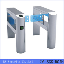 Automatic Swing Baffle Gate Glass Arm Turnstile