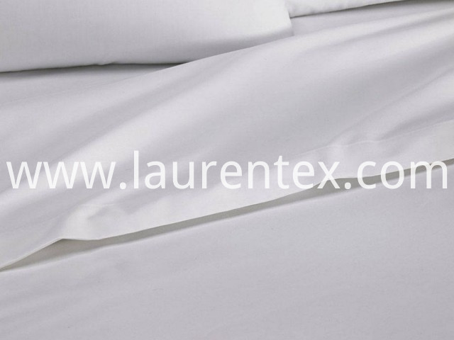 white cotton sateen flat sheets