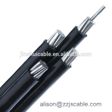 4 Core Power Cable with Aluminum Conductors