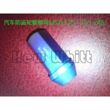 Gr5 Titanium anti-theif wheel hub nuts M12*1.5/1.25*45
