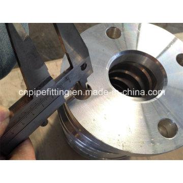 Aluminium 6061 T6 Geschmiedeter Schweißansatz Flansch, Plattenflansch, Aluminium 6061 T6 Flansch