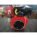 14HP Air-Cooled Red Color Diesel Engine Set